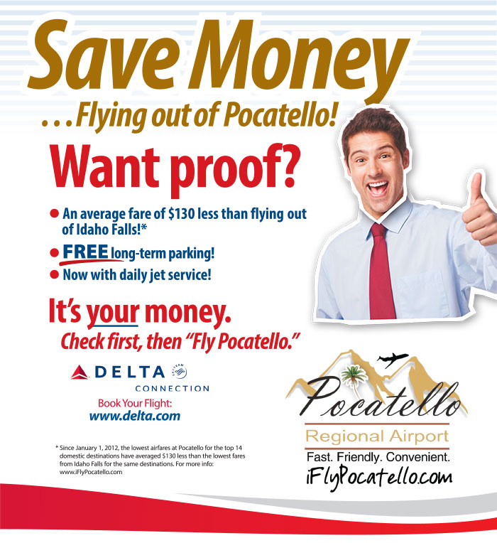 PRA - Save Money Flying out of Pocatelllo
