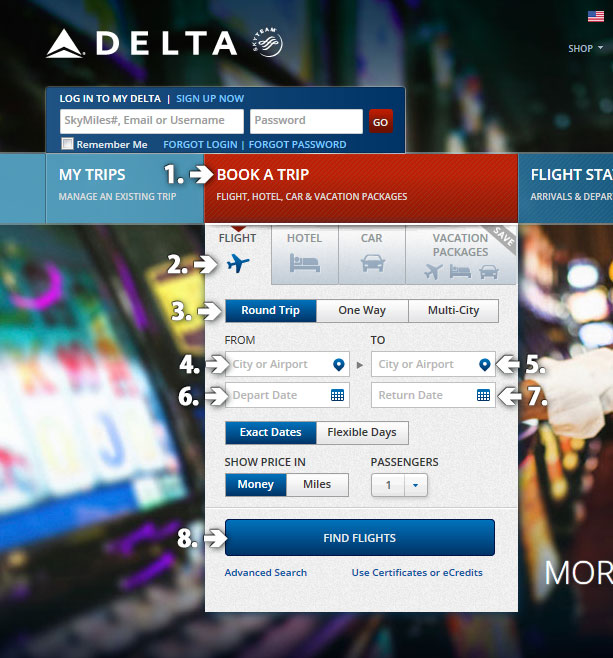 How to Book a Flight on Delta.com — Welcome to the Pocatello ...