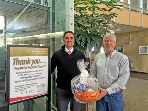 October's gift basket winner is Josiah Dahlstrom!