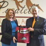 PRA April Gift Basket Winner is Tracy Collum!